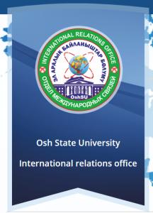 Oş Devlet Üniversitesi ile Uluslararası İşbirliği Görüşmesi